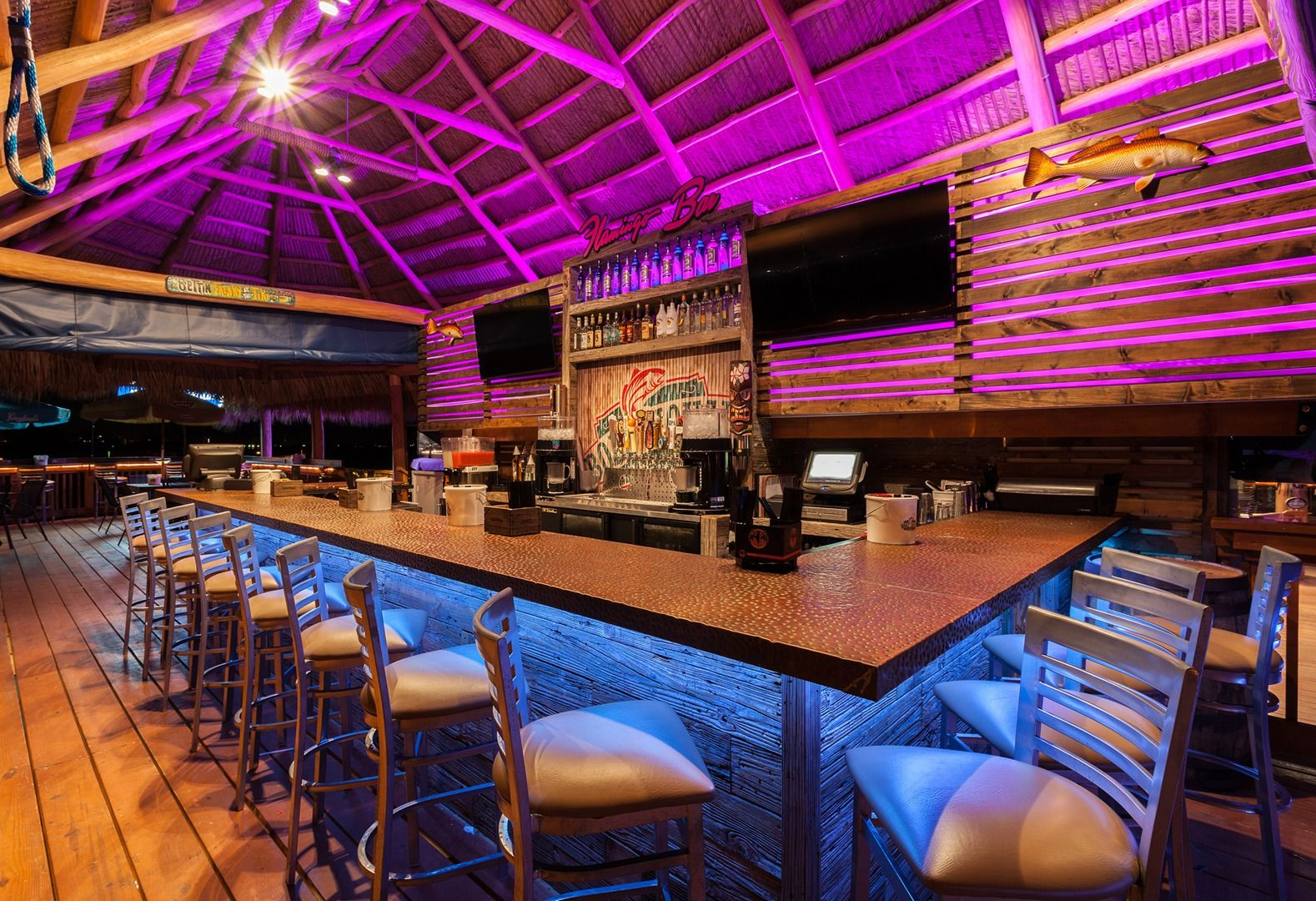 Cape Coral Boat House Tiki Bar Grill